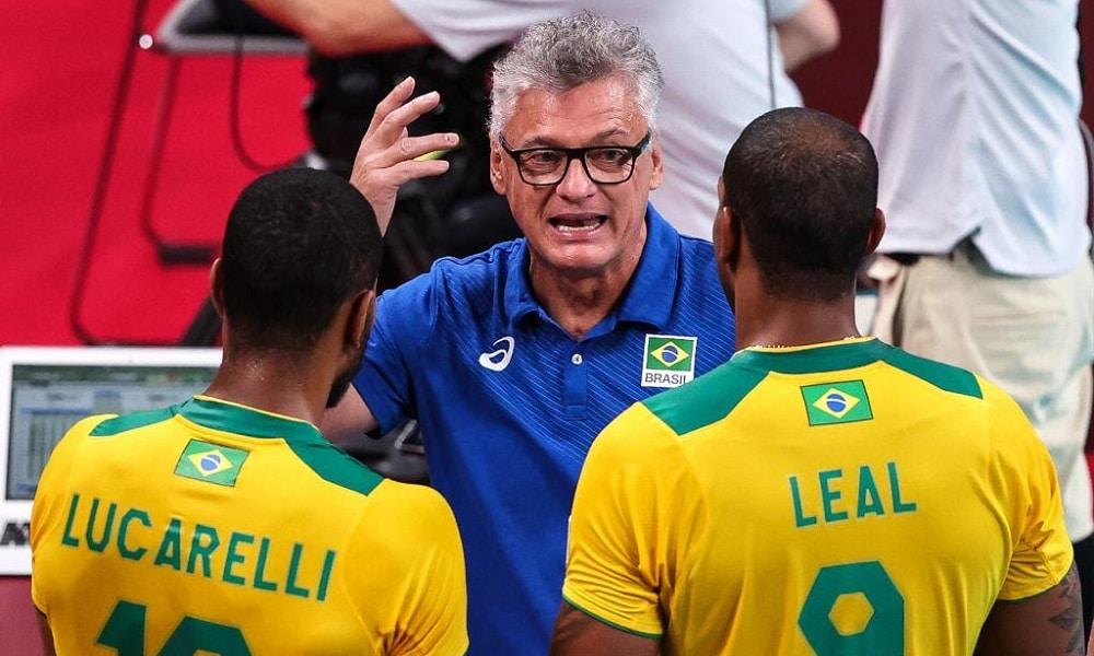 Brasil x Rússia vôlei masculino Jogos Olímpicos de Tóquio