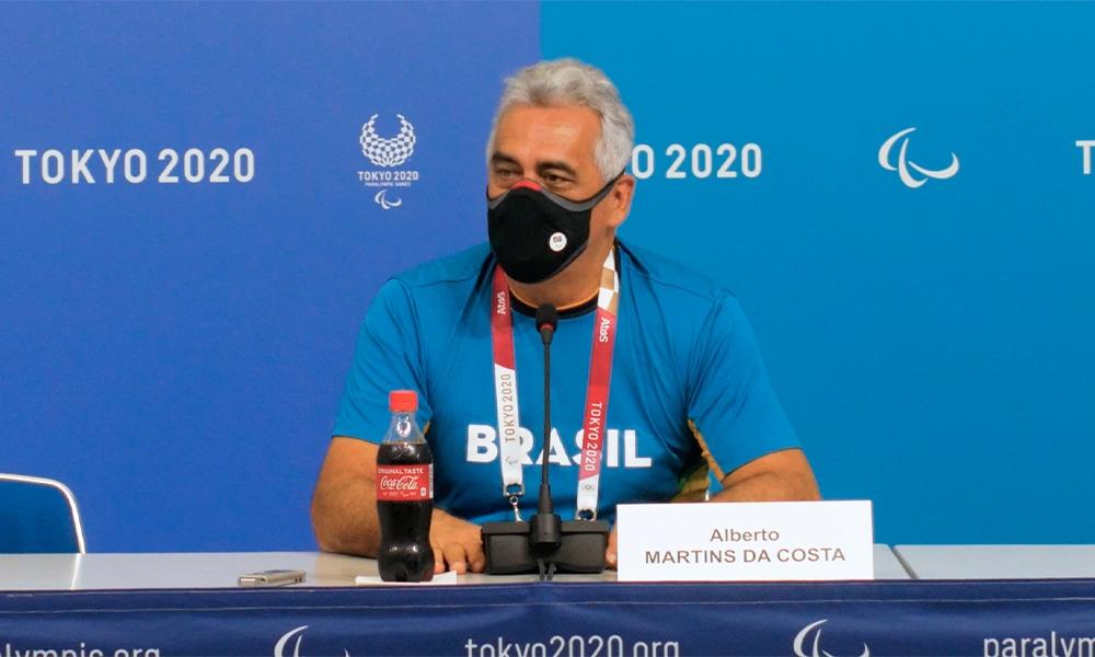 Alberto Martins da Costa jogos paralímpicos tóquio delegação recorde