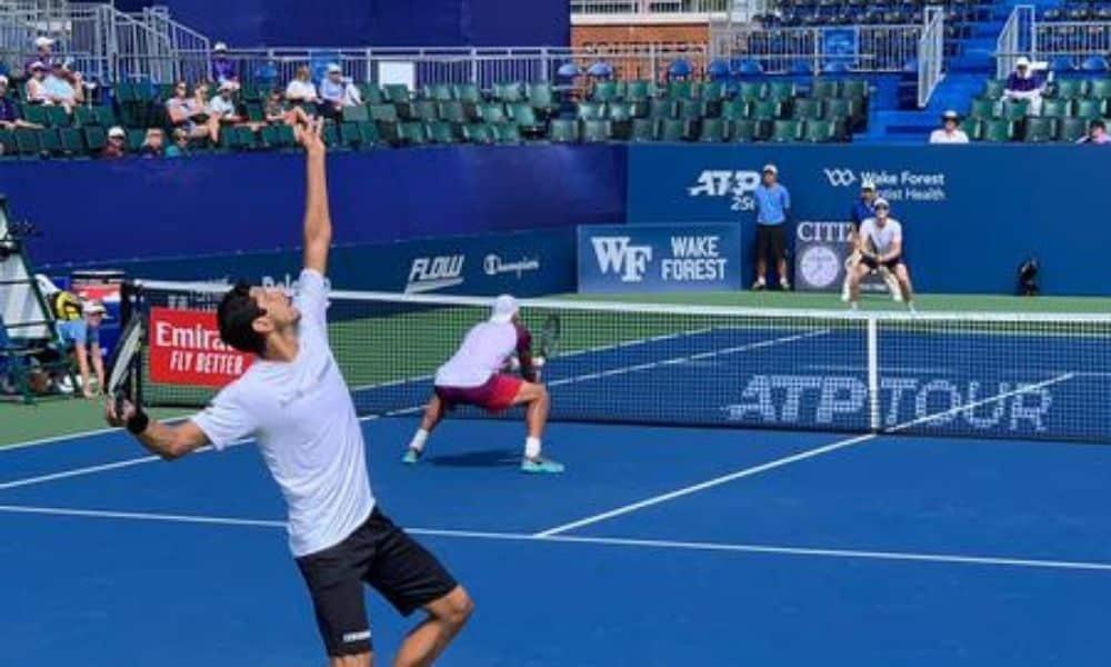ATP 250 de Winston-Salem tem vitórias de Marcelo Melo e Demoliner