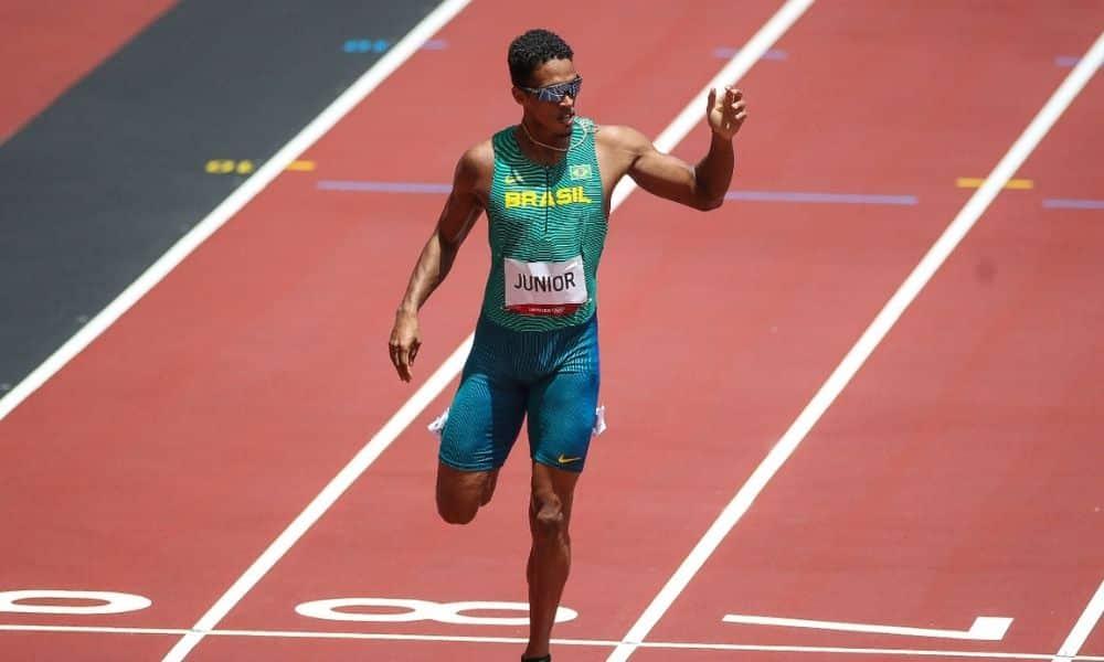 Aldemir Júnior 200 m rasos Jogos Olímpicos Tóquio 2020