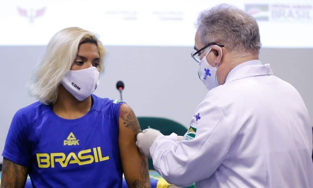 Ana Marcela Cunha vacina covid-19 jogos olímpicos tóquio 2020