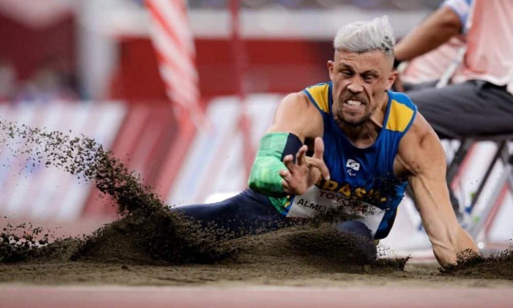 Aser Ramos salto em distância Jogos Paralímpicos Tóquio 2020