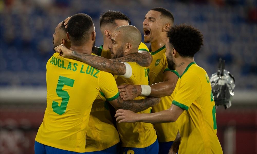 Brasil e Espanha - Seleção futebol masculino - Jogos Olímpicos de Tóquio
