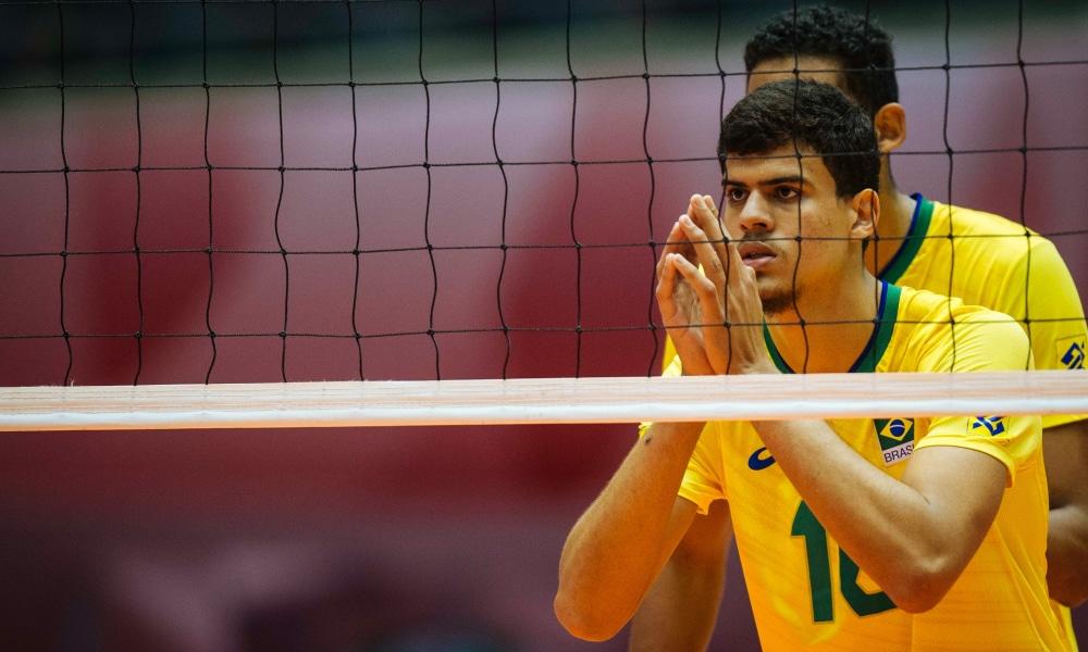 Brasil perde para Itália no primeiro jogo do Mundial Sub-19 de vôlei masculino