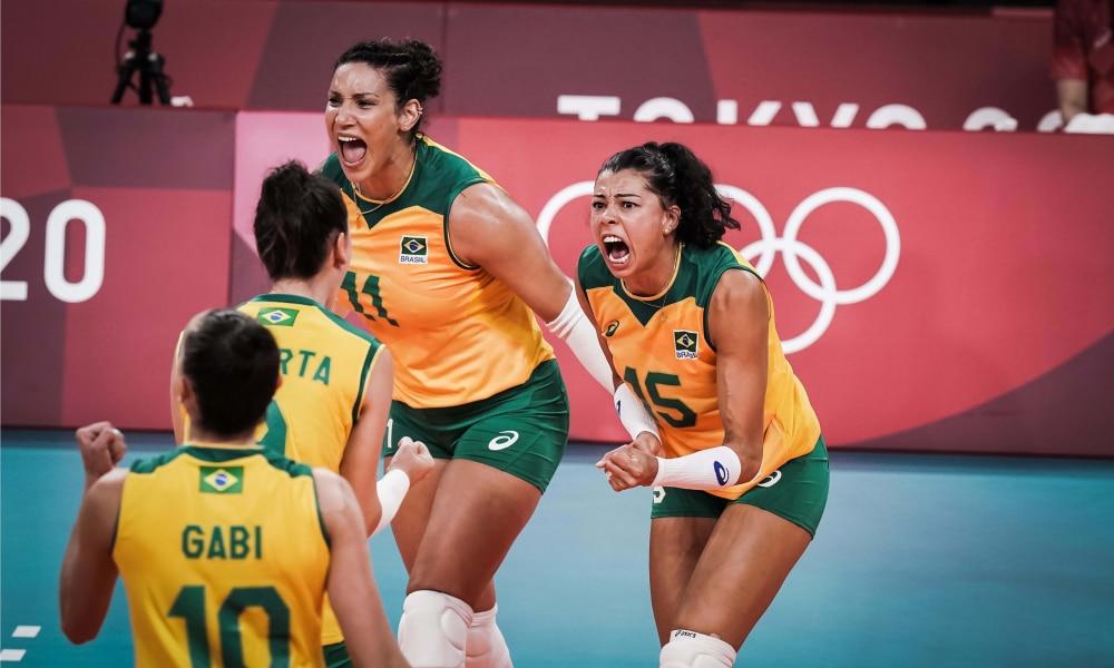 Brasil e Rússia - Jogos Olímpicos de Tóquio