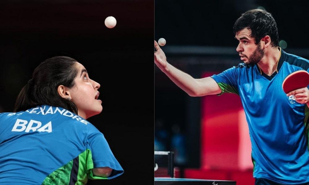 Bruna Alexandre e Israel Stroh vencem nos Jogos Paralímpicos de Tóquio