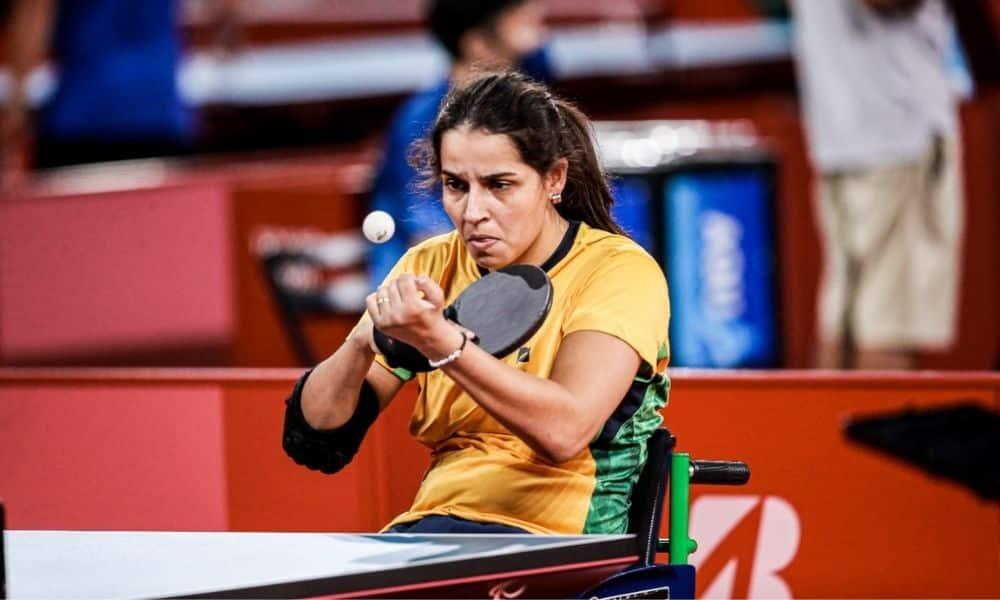 Cátia Oliveira tênis de mesa Jogos Paralímpicos Tóquio 2020