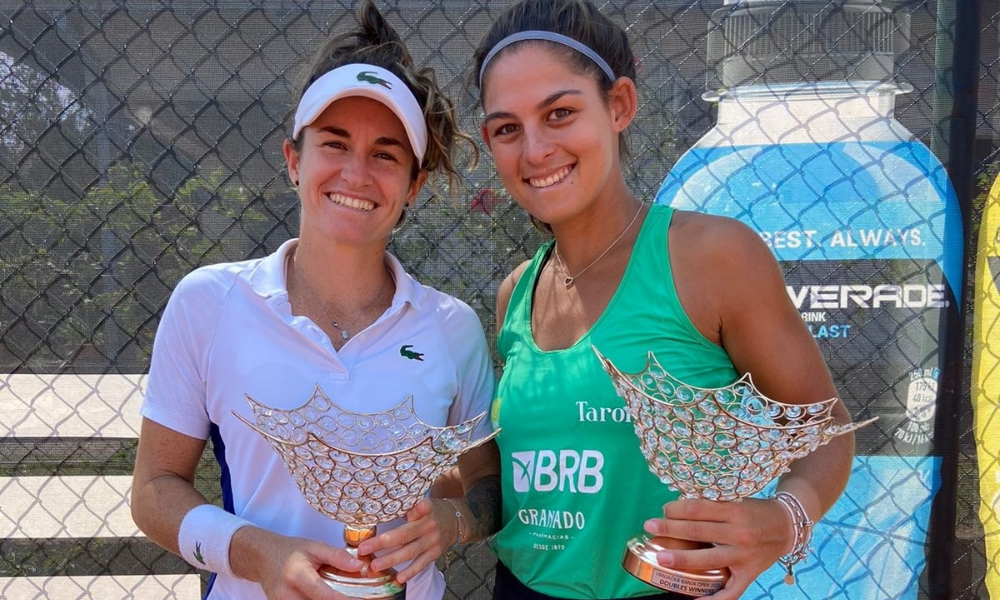 Carol Meligeni, Oscar Gutierrez e Mateus Alves conquistam títulos em ITF