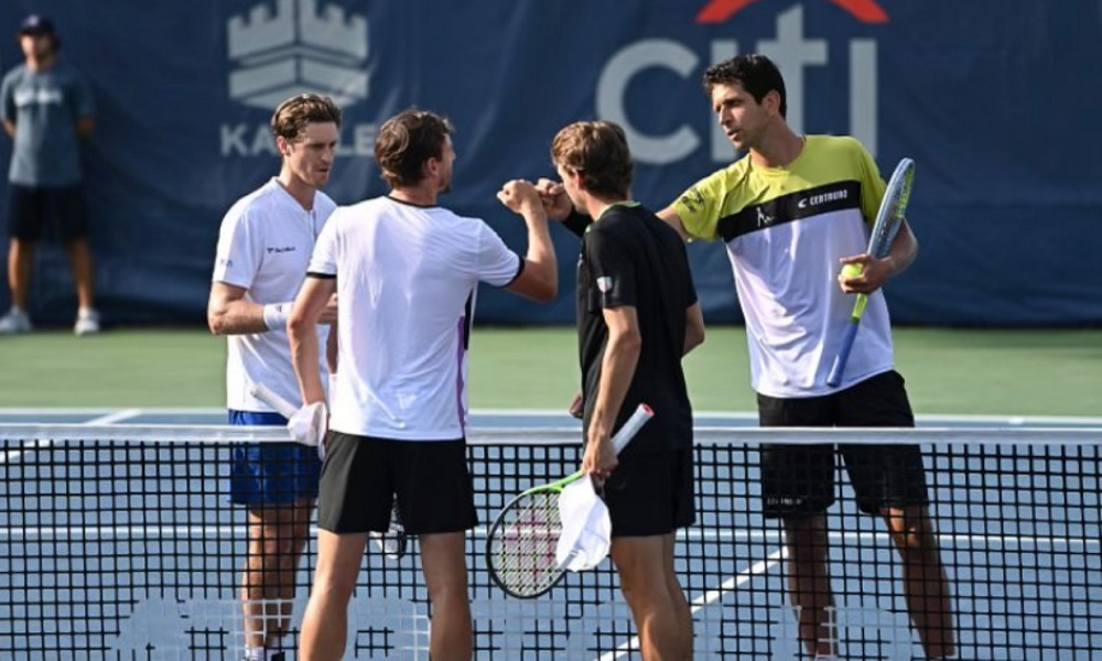 De virada, Melo e Daniell avançam para a semifinal em Washington