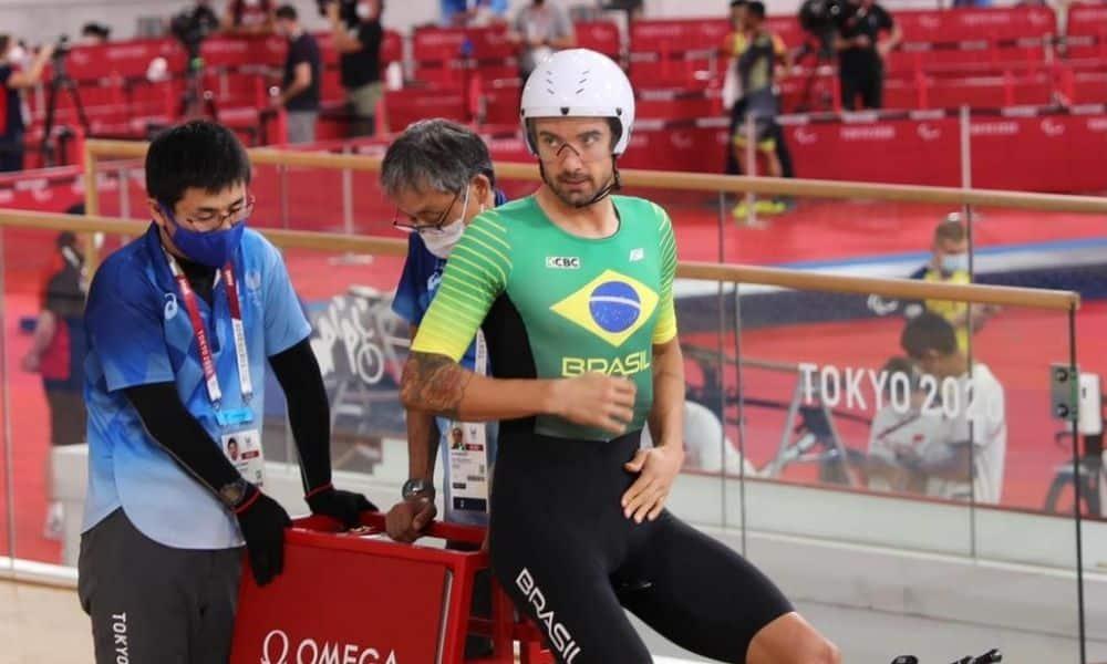 Lauro Chaman jogos paralímpicos tóquio ciclismo de pista