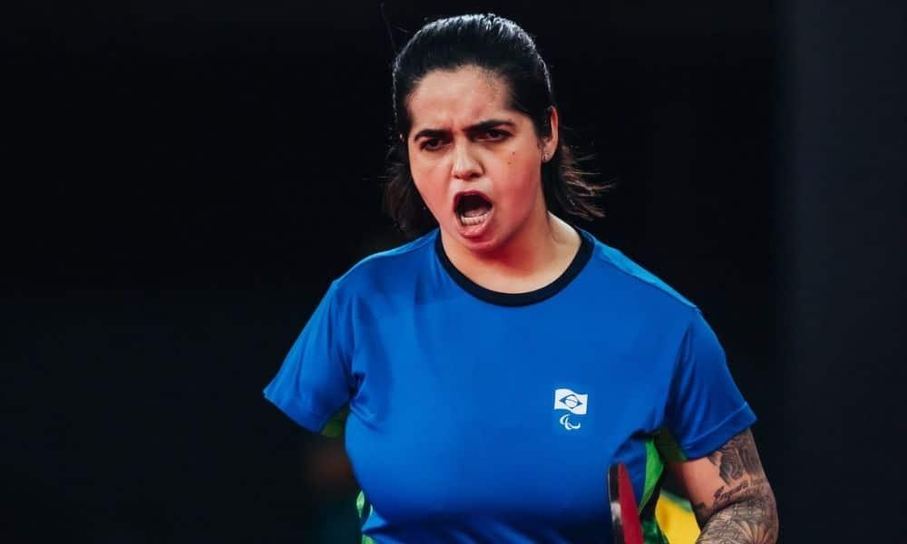 Bruna Alexandre jogos paralímpicos de Tóquio 2020 tênis de mesa