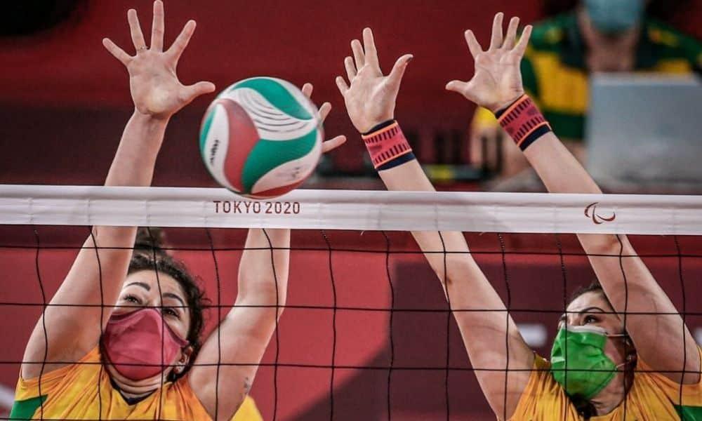 seleção feminina vôlei sentado jogos paralímpicos de tóquio 2020
