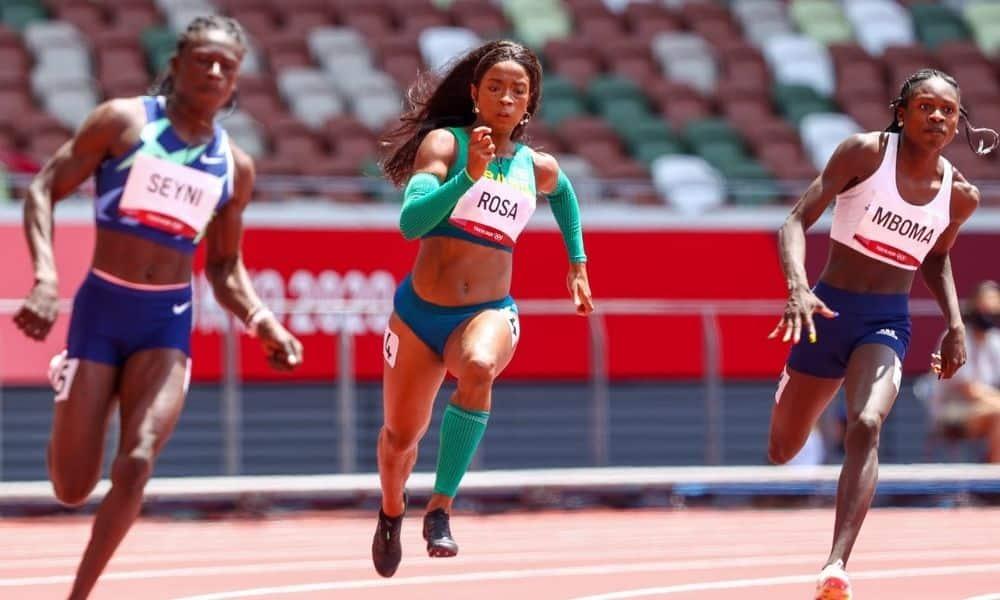 Vitória Rosa Ana Carolina Azevedo 200m atletsimo Tóquiio 2020