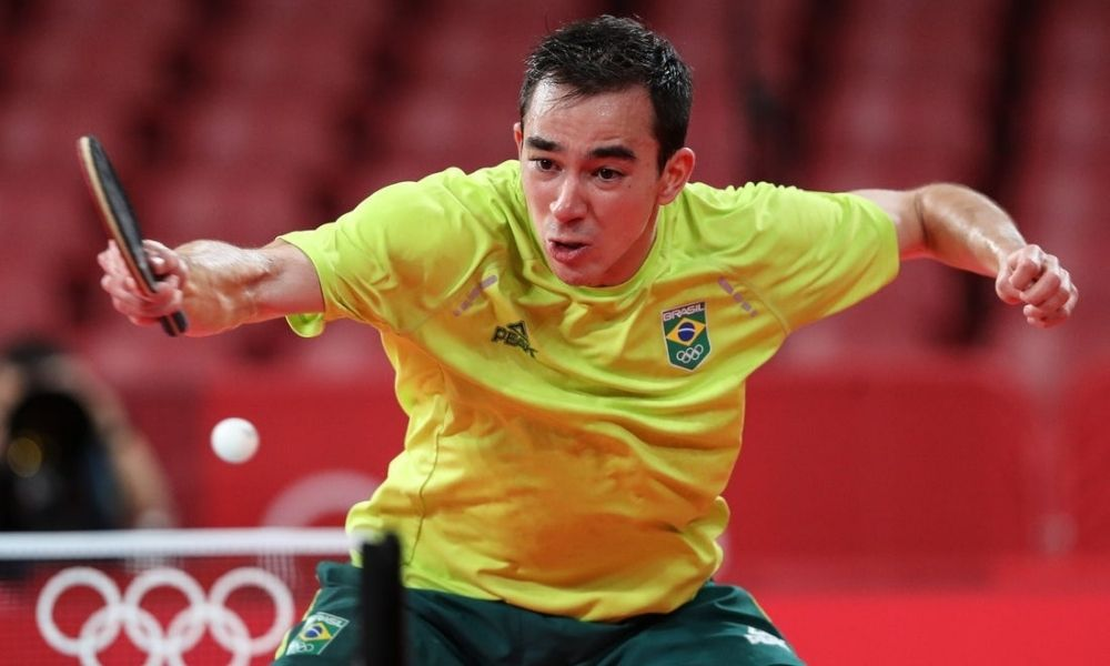 Brasil x Coreia do Sul - Tênis de Mesa - Jogos Olímpicos de Tóquio