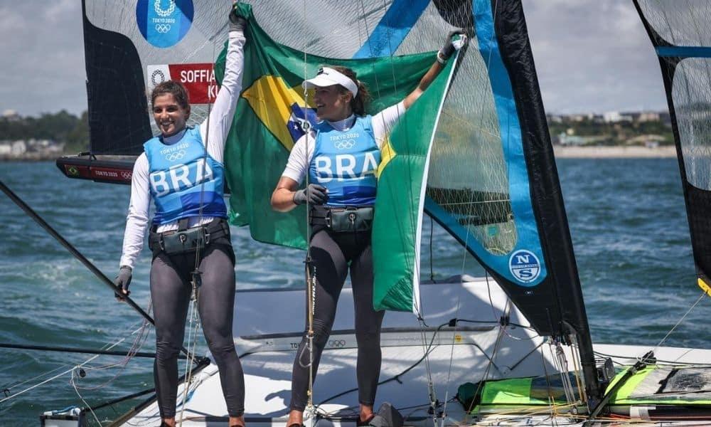Martine Grael e Kahena Kunze Jogos Olímpicos de Tóquio