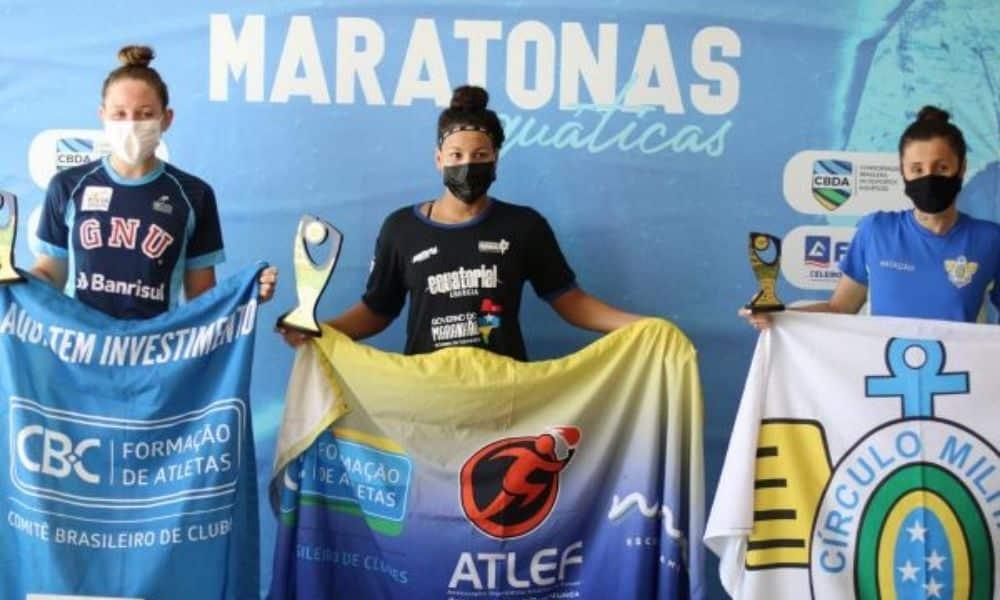 Carol Hertel e Allan do Carmo vencem prova de 7,5km no Brasileiro