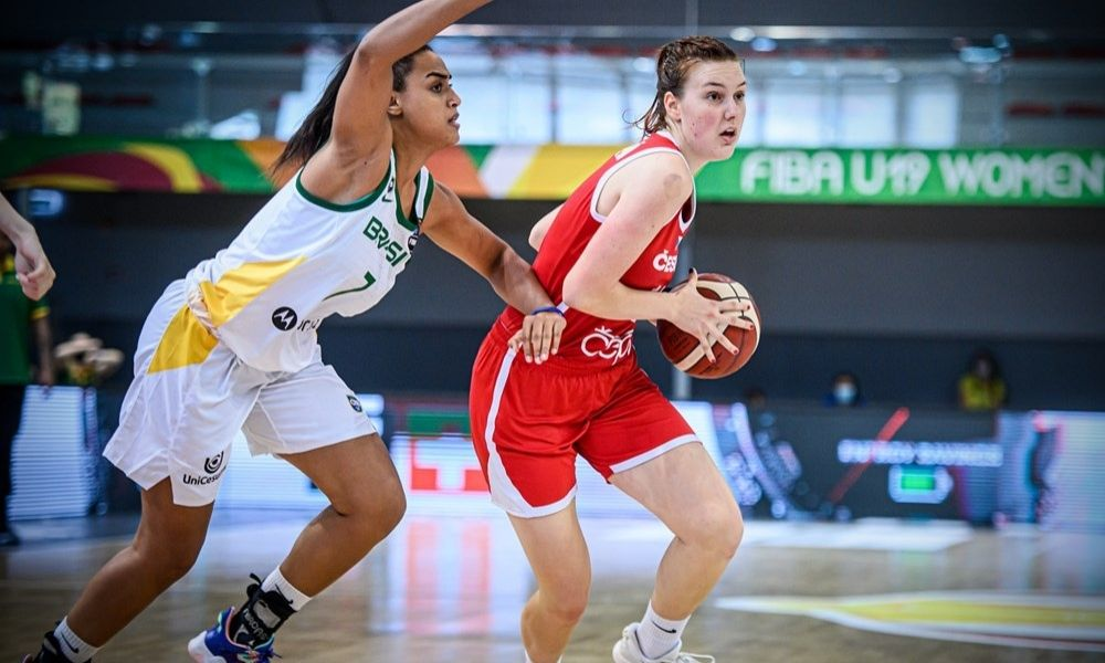 Brasil x República Tcheca - Mundial Sub-19 feminino de basquete
