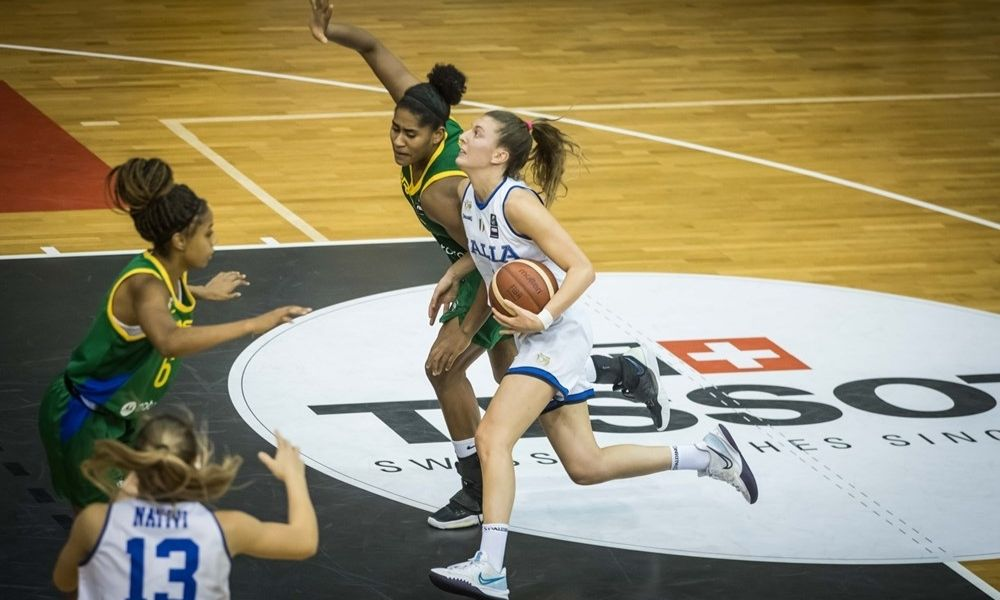 Brasil x Itália - Mundial Sub-19 feminino de basquete