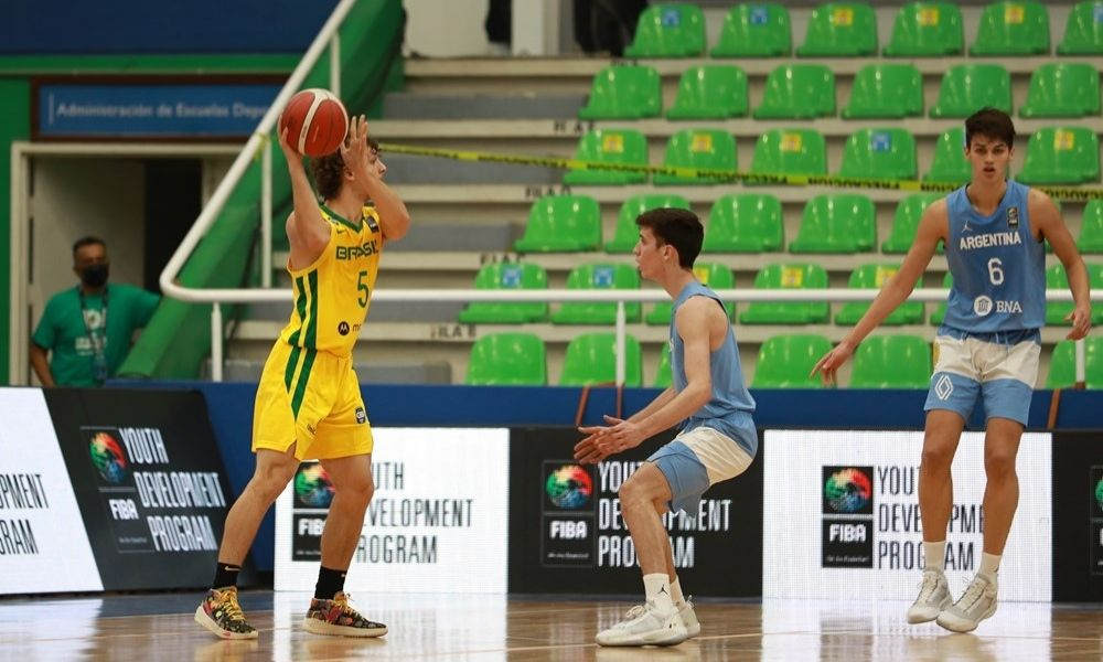 Brasil x Argentina - Americup Sub-16 masculina de basquete