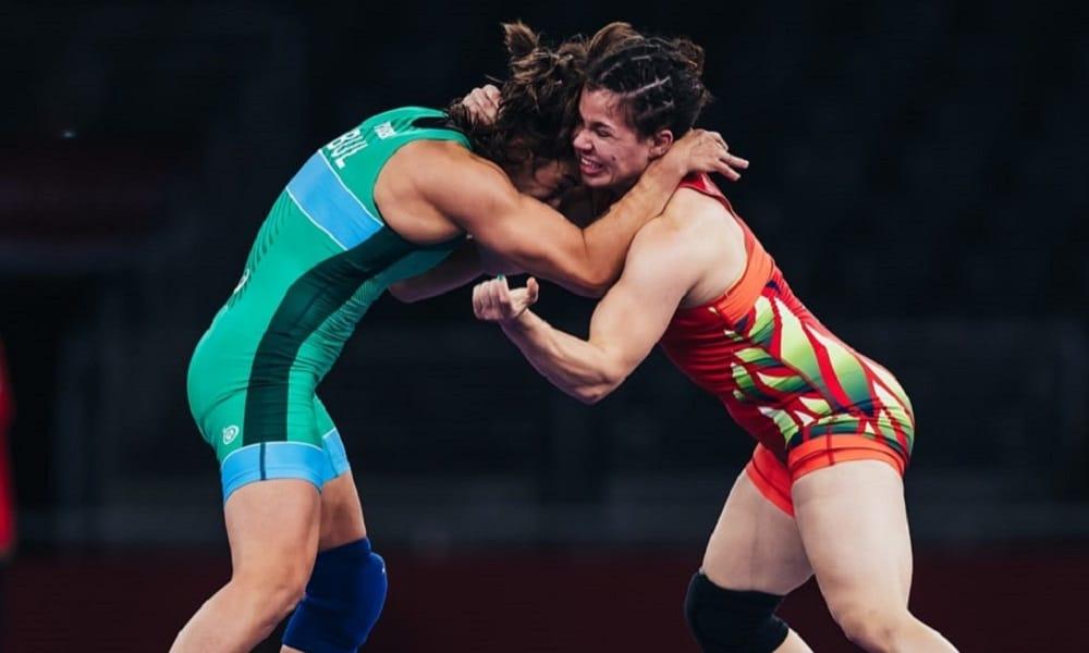 Laís Nunes wrestling Tóquio 2020
