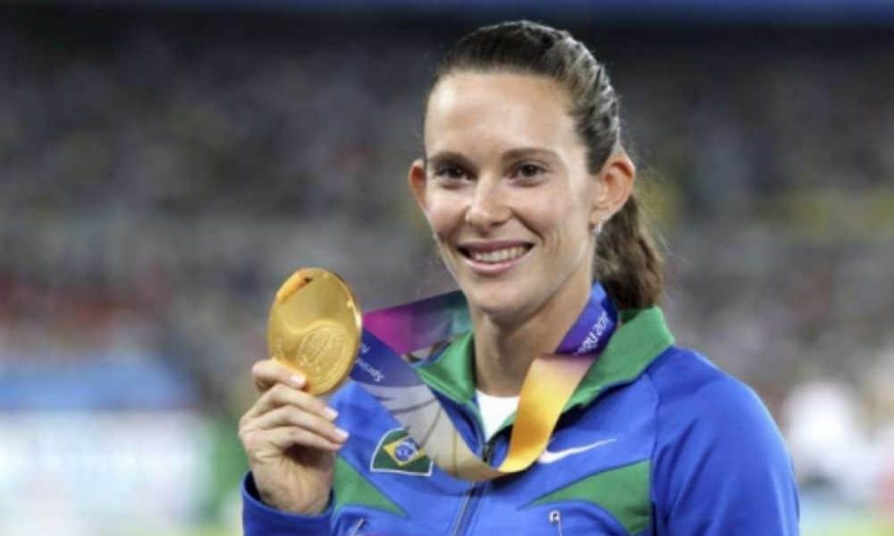 Fabiana Murer - campeã mundial 2011 - salto com vara