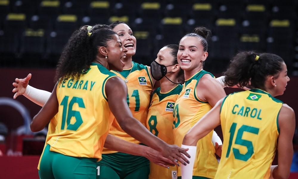 Gabi - Brasil - Jogos Olímpicos de Tóquio 2020 - vôlei feminino - seleção