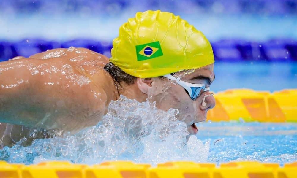 Gabriel Bandeira natação Jogos Paralímpicos de Tóquio 2020