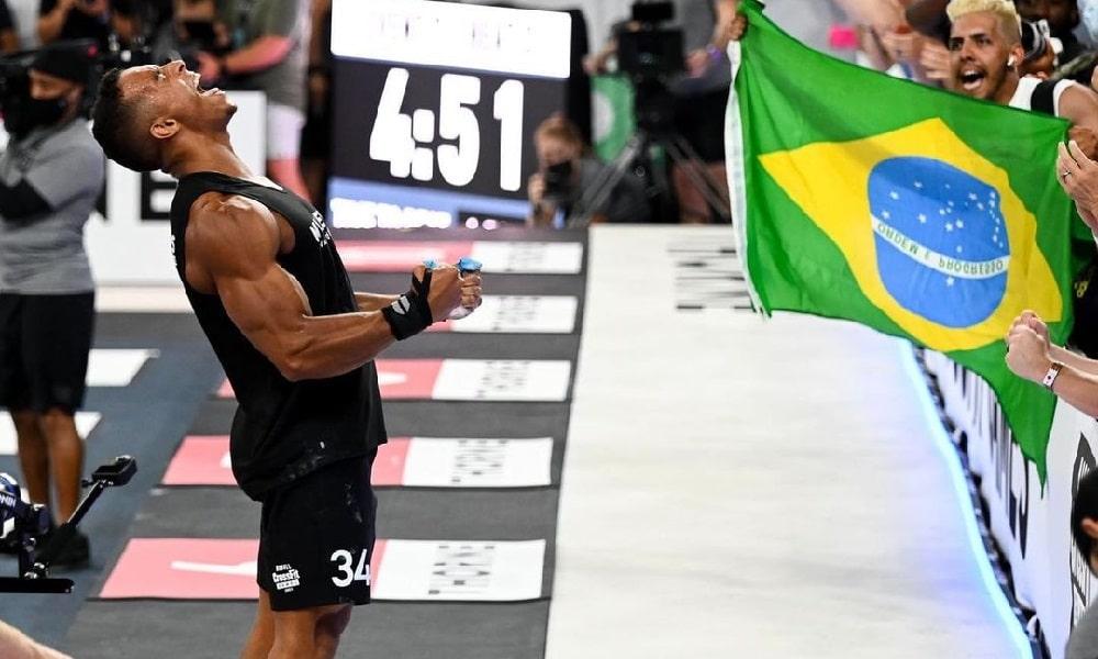Guilherme Malheiros vence três provas e brilha no Crossfit Games 2021, nos EUA