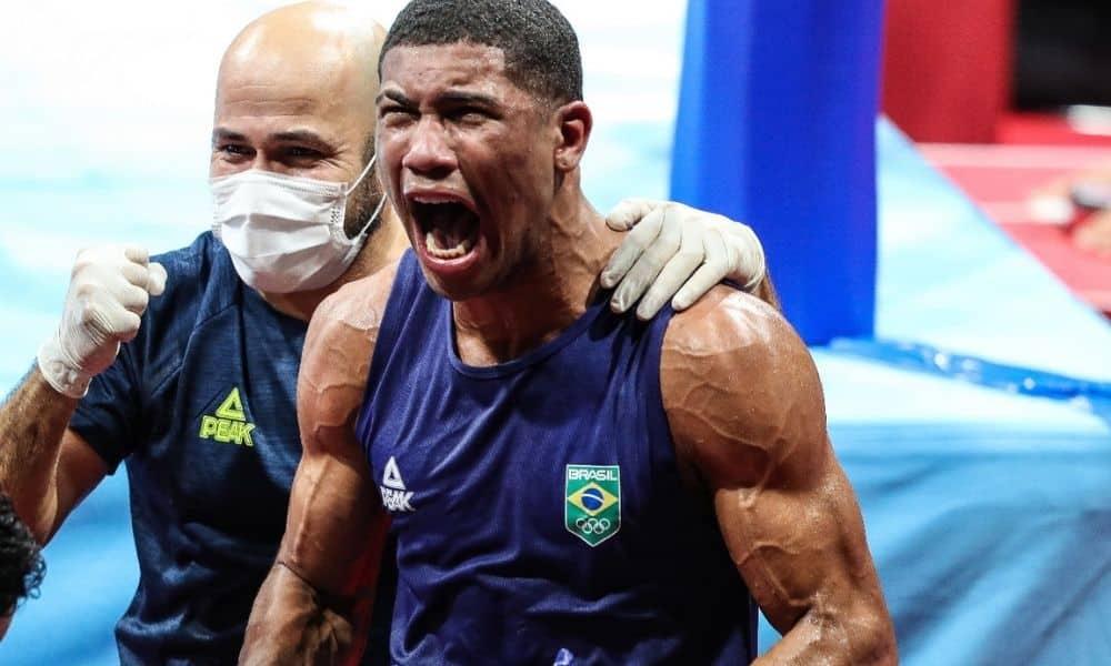 Hebert Conceição campeão olímpico boxe jogos olímpicos tóquio 2020