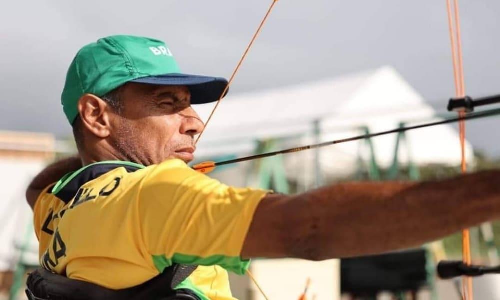 Time misto de tiro com arco do Brasil, com Hélcio Perilo e Rejane Silva perdem nos Jogos Paralímpicos de Tóquio
