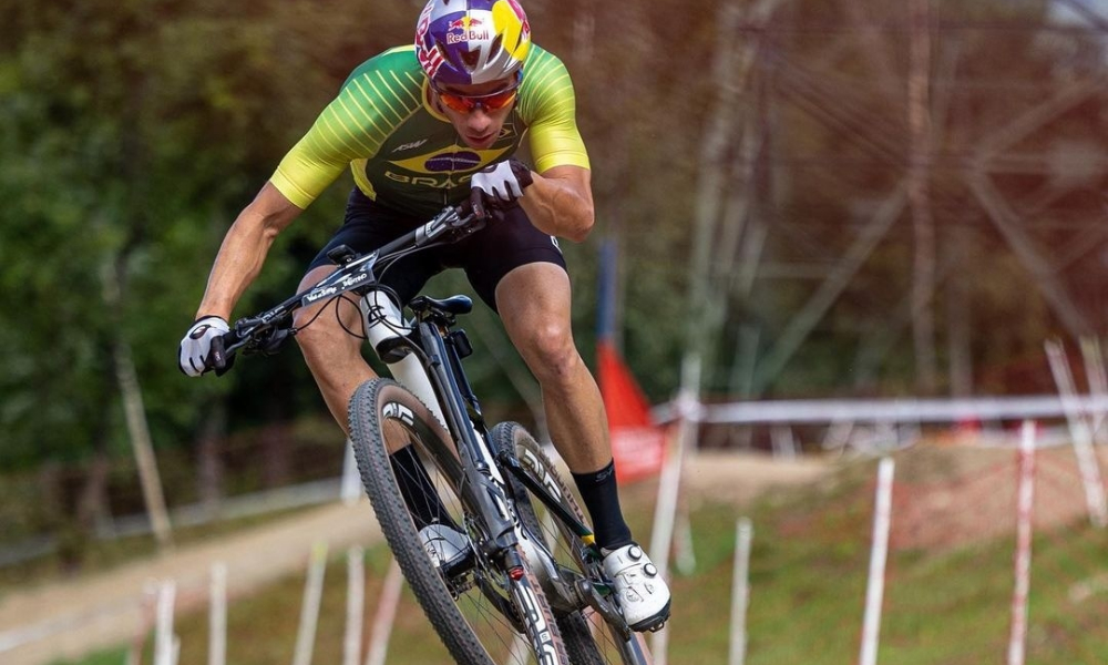 Henrique Avancini no Mundial de mountain bike