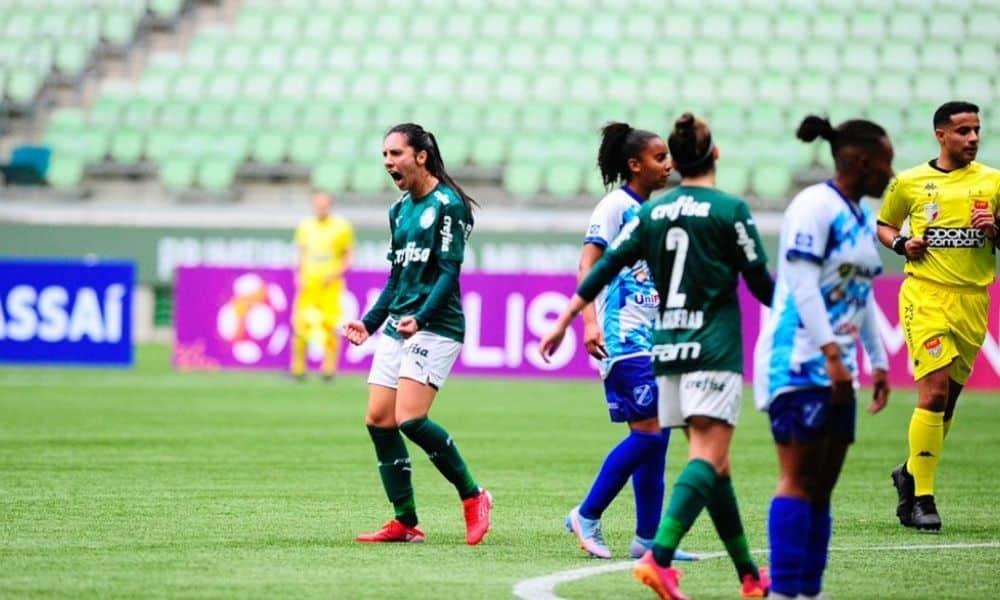 JULIA BIANCHI palmeiras x taubaté campeonato paulista de futebol feminino 2021
