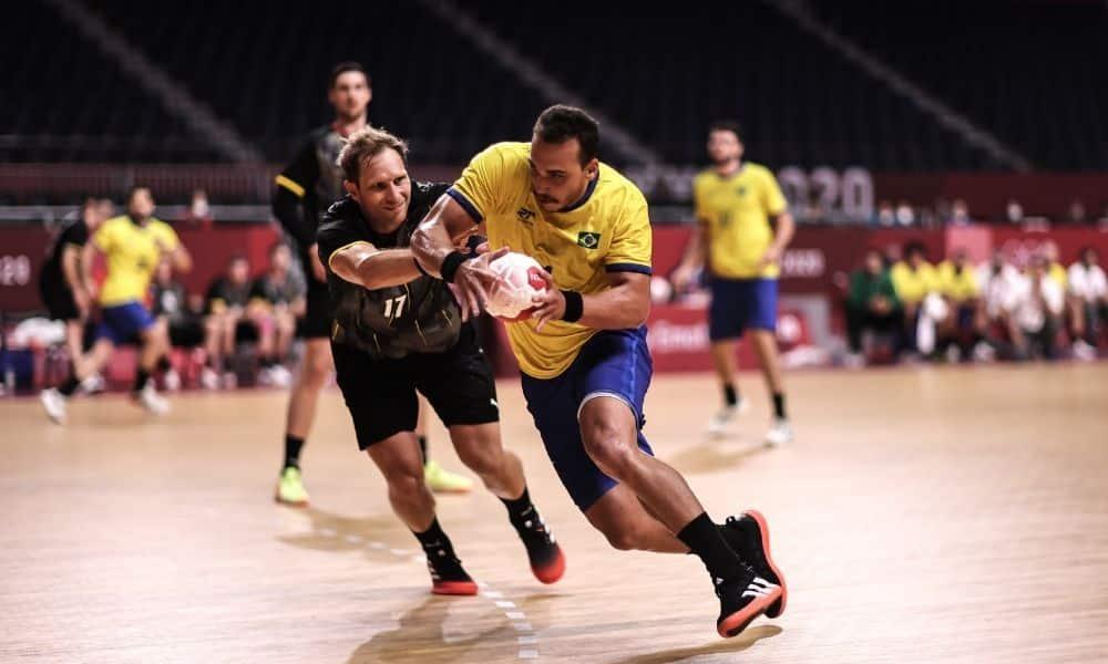 João Pedro - handebol masculino - Jogos Olímpicos de Tóquio 2020