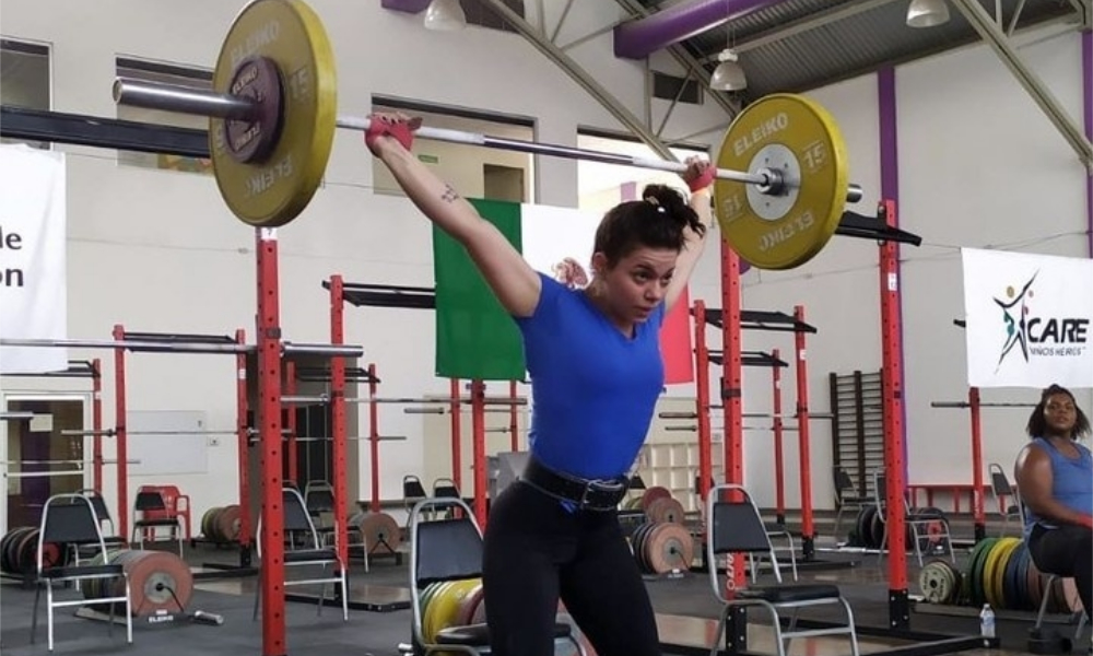 Júlia Vieira - Pan-Americano Sub-17 de levantamento de peso