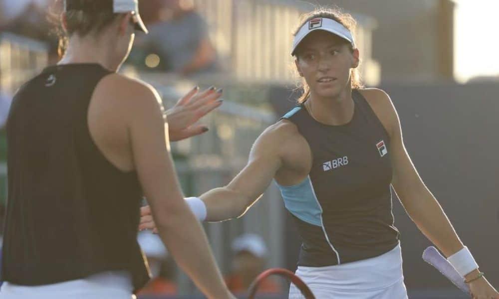 Luisa Stefani - Gabriela Dabrovski - WTA de Montreal - semifinal 2