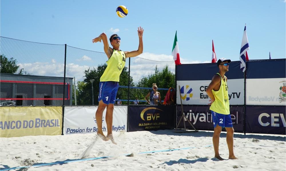 Maia e Adrielson - Etapa de Sofia do Circuito Mundial de vôlei de praia