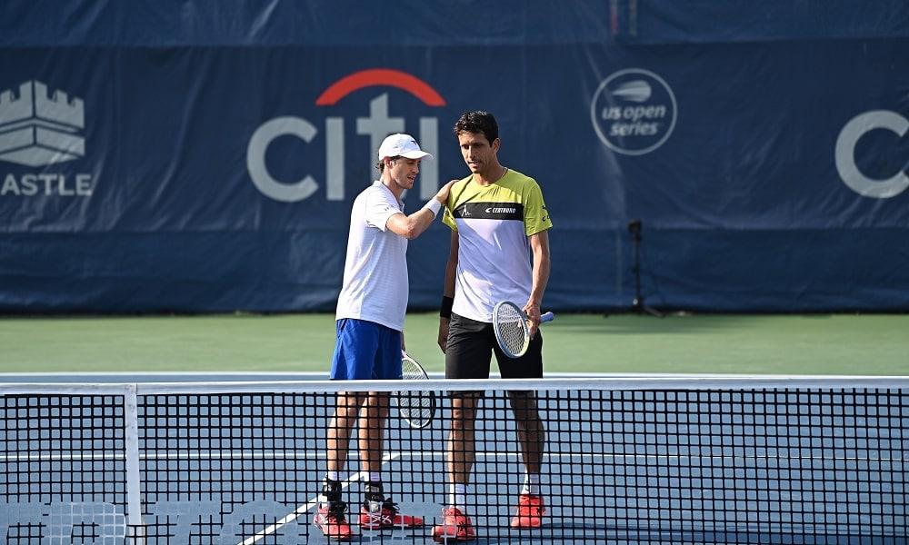 Marcelo Melo e Marcus Daniell param na semifinal do ATP 500 de Washington