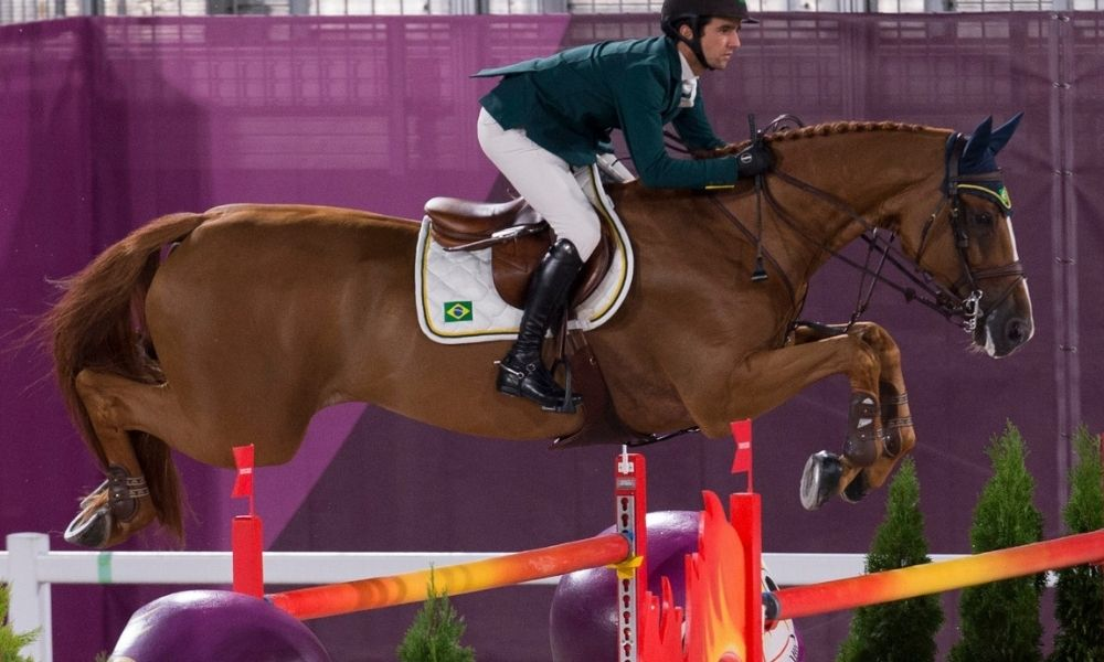 Marlon Zanotelli 2 - equipes - hipismo saltos - Jogos Olímpicos de. Tóquio 2020 - Miriam JeskeCOB