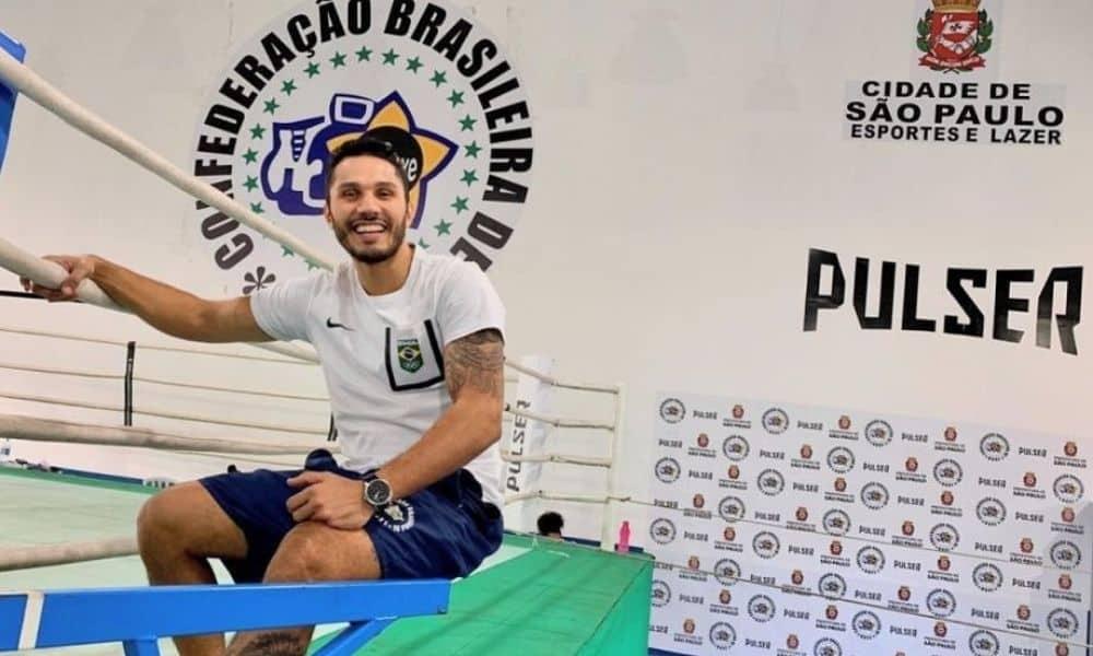 Mateus Alves técnico da seleção brasileira de boxe