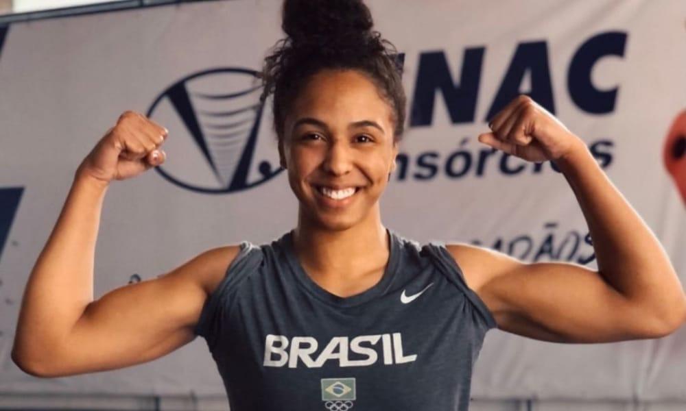 Meiriele Santos - Mundial Júnior de Wrestling