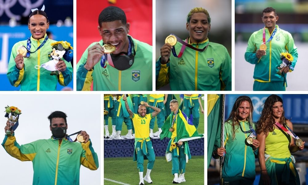 Melhor participação brasileira na história Jogos Olímpicos Tóquio 2020