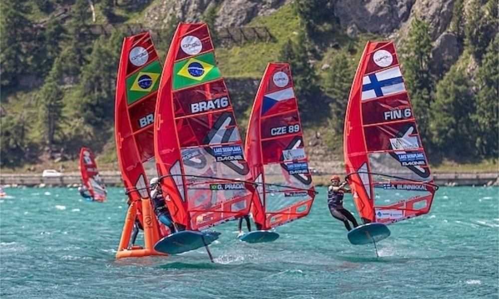Mundial de IQFoil - Giovanna Prada - Mateus Isaac