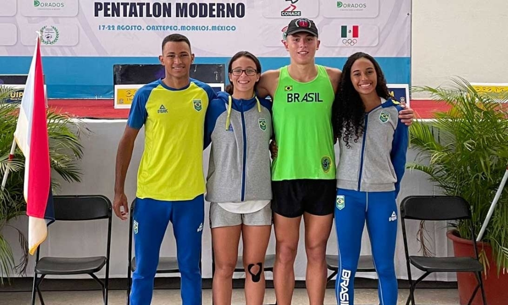 Ana Clara Bezerra, Marcella Mello, Matheus Nobre e Matheus Romanelli garantiram vaga nos Jogos Pan-Americanos Júnior