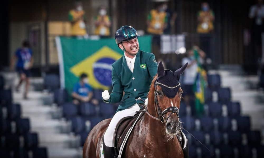 Rodolpho Riskalla Jogos Paralímpicos Tóquio 2020 hipismo adestramento assista ao vivo