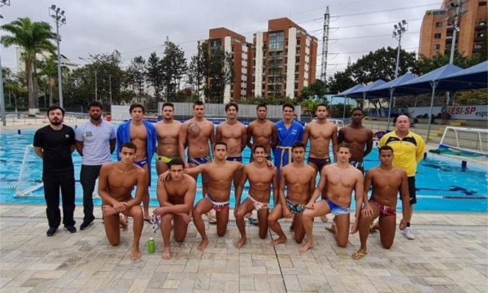 Seleção Sub-20 foi convocada para o Mundial Júnior de polo aquático