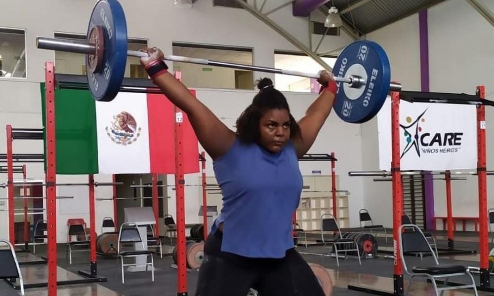 Taiane Justino - Pan-Americano Sub-7 de levantamento de peso