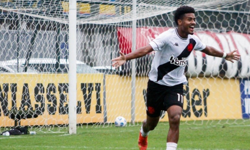 Vasco goleia o Cruzeiro no Brasileirão Sub-20