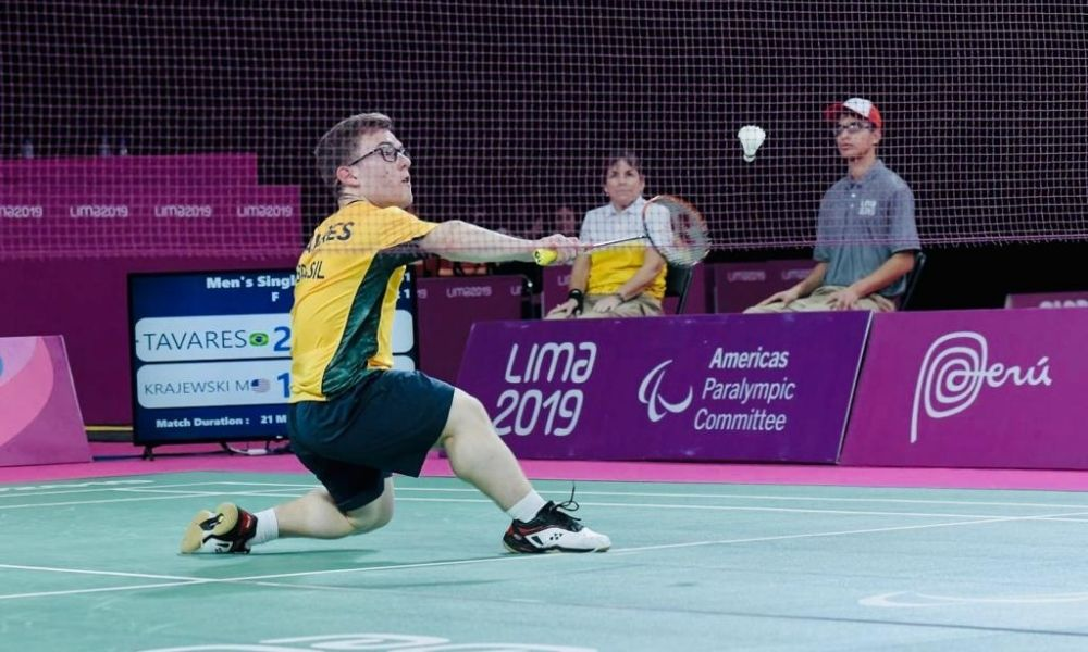 vitor tavares jogos parapan-americanos Lima-2019 badminton parabadminton Jogos Paralímpicos Tóquio
