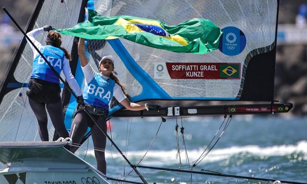 Martine Grael Kahena Kunze Jogos Olímpicos de Tóquio 49er FX