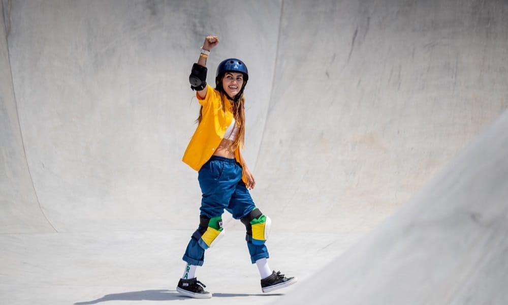 Yndiara Asp jogos olímpicos de tóquio skate park